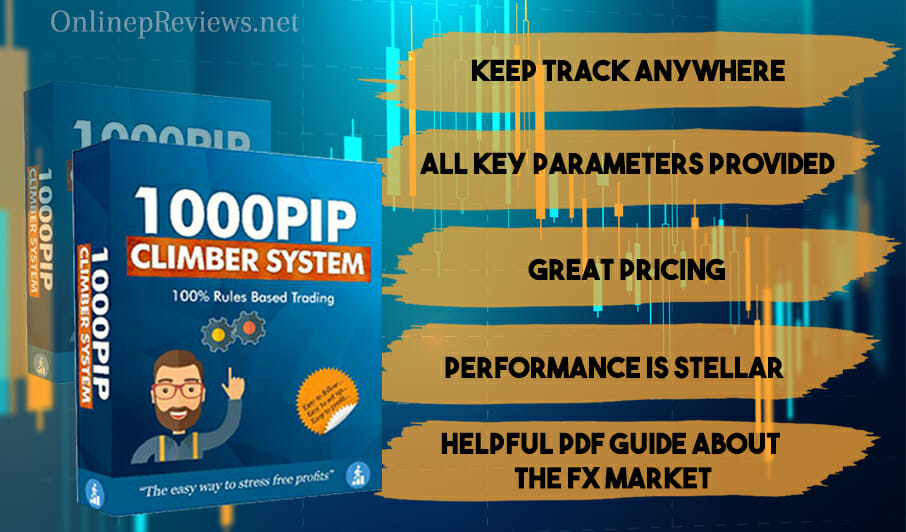 1000Pip Climber System Features of the System