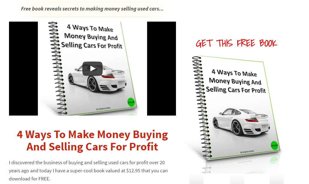 Lazy Way To Buy And Sell Cars For Profit