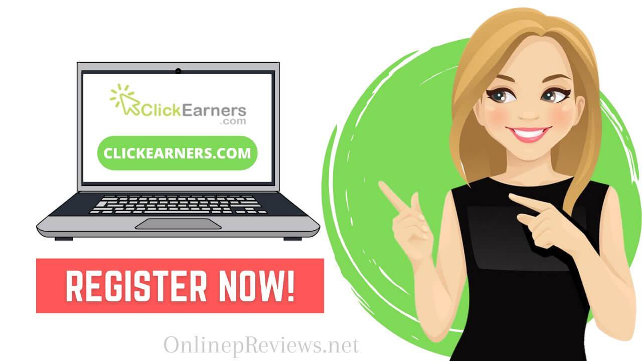 ClickEarners.com Register Now