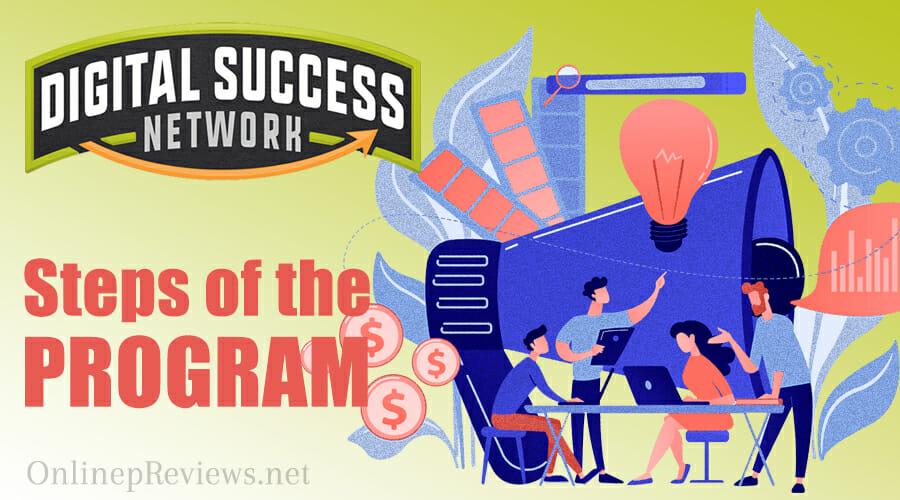 Digital Success Network Steps of the Program