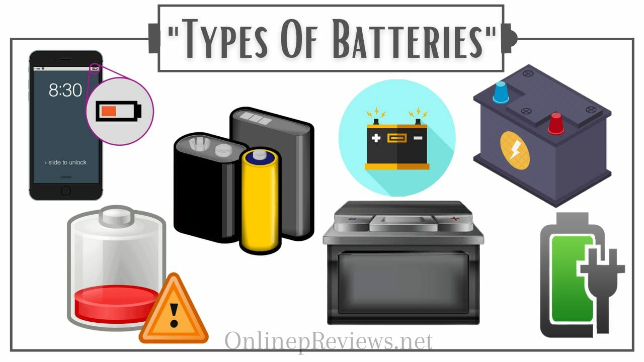 EZ Battery Reconditioning Types Of Batteries