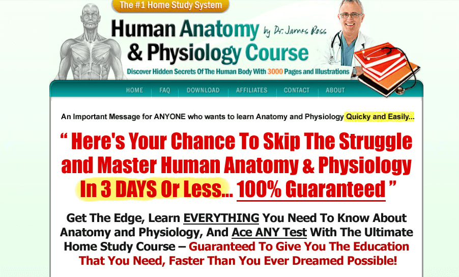 Outstanding Learn Anatomy And Physiology Fast Motif - Human Anatomy ...