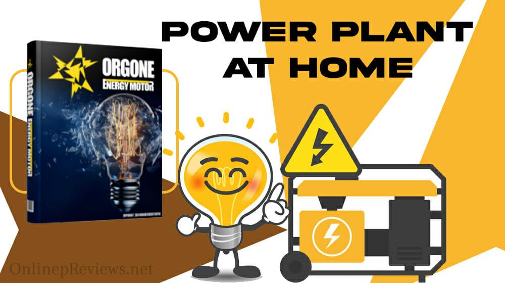 Orgone Energy Motor Power Plant at Home