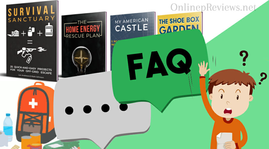 Survival Sanctuary Frequently Asked Questions