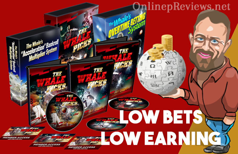The Whale Picks Low Bets Low Earning