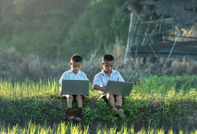 children laptop