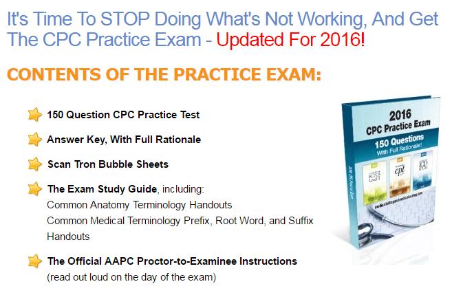 CPC practice exam