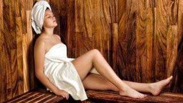 woman towel